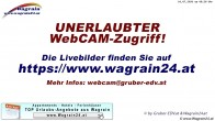Archived image Webcam Wagrain - Restaurant Almstadl 00:00