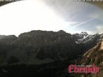 Archiv Foto Ebenalp: Webcam Richtung Marwees 02:00