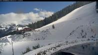 Archived image Webcam Panorama Slope - Riesneralm Ski Resort 06:00