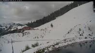 Archived image Webcam Panorama Slope - Riesneralm Ski Resort 08:00