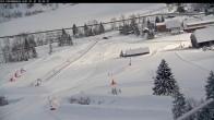 Archived image Webcam Kids' Area - Riesneralm Ski Resort 04:00