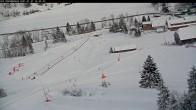 Archived image Webcam Kids' Area - Riesneralm Ski Resort 08:00