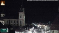 Archiv Foto Webcam Basilika Mariazell 18:00
