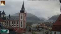 Archiv Foto Webcam Basilika Mariazell 02:00