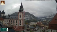 Archiv Foto Webcam Basilika Mariazell 04:00
