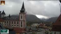 Archiv Foto Webcam Basilika Mariazell 06:00