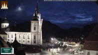 Archiv Foto Webcam Basilika Mariazell 12:00