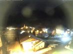 Archiv Foto Webcam Berghotel Tyrol im Schnalstal: Blick auf das Dorf Unser Frau 23:00