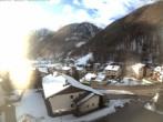 Archiv Foto Webcam Berghotel Tyrol im Schnalstal: Blick auf das Dorf Unser Frau 07:00