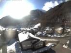 Archiv Foto Webcam Berghotel Tyrol im Schnalstal: Blick auf das Dorf Unser Frau 09:00