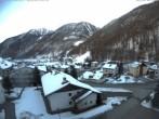 Archiv Foto Webcam Berghotel Tyrol im Schnalstal: Blick auf das Dorf Unser Frau 13:00