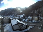 Archiv Foto Webcam Berghotel Tyrol im Schnalstal: Blick auf das Dorf Unser Frau 06:00