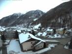 Archiv Foto Webcam Berghotel Tyrol im Schnalstal: Blick auf das Dorf Unser Frau 10:00