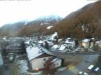 Archiv Foto Webcam Berghotel Tyrol im Schnalstal: Blick auf das Dorf Unser Frau 01:00