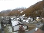 Archiv Foto Webcam Berghotel Tyrol im Schnalstal: Blick auf das Dorf Unser Frau 03:00