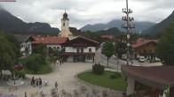 Archiv Foto Webcam Schleching Dorfplatz (Bayern) 08:00