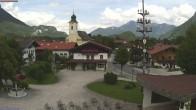 Archiv Foto Webcam Schleching Dorfplatz (Bayern) 14:00