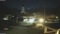 Archiv Foto Webcam Schleching Dorfplatz (Bayern) 23:00