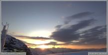 Archiv Foto Webcam Skigebiet Sella Nevea - Bovec Kanin - Blick nach Osten 00:00