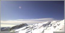 Archiv Foto Webcam Skigebiet Sella Nevea - Bovec Kanin - Blick nach Südwesten 06:00