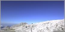 Archiv Foto Webcam Skigebiet Sella Nevea - Bovec Kanin - Blick nach Südwesten 02:00