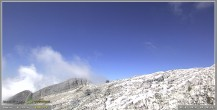Archiv Foto Webcam Skigebiet Sella Nevea - Bovec Kanin - Blick nach Südwesten 04:00