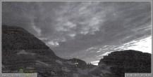 Archiv Foto Webcam Skigebiet Sella Nevea - Bovec Kanin - Blick Richtung Nordwesten 20:00