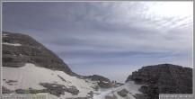 Archiv Foto Webcam Skigebiet Sella Nevea - Bovec Kanin - Blick Richtung Nordwesten 02:00