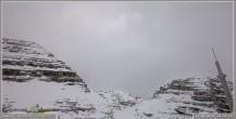 Archiv Foto Webcam Skigebiet Sella Nevea - Bovec Kanin - Blick Richtung Nordwesten 04:00