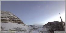 Archiv Foto Webcam Skigebiet Sella Nevea - Bovec Kanin - Blick Richtung Nordwesten 01:00