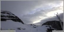 Archiv Foto Webcam Skigebiet Sella Nevea - Bovec Kanin - Blick Richtung Nordwesten 00:00