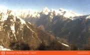 Archiv Foto Webcam Ausblick vom Rosskopf in Südtirol Richtung Nordosten 02:00
