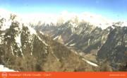 Archiv Foto Webcam Ausblick vom Rosskopf in Südtirol Richtung Nordosten 04:00