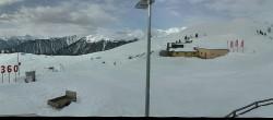 Archiv Foto Webcam Panoramablick von der Bergstation Watles im Obervinschgau 04:00