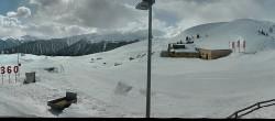 Archiv Foto Webcam Panoramablick von der Bergstation Watles im Obervinschgau 08:00