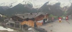 Archiv Foto Webcam Bergstation Klausberg - Blick auf Kristallalm im Ahrntal (Südtirol) 06:00