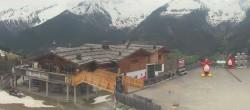 Archiv Foto Webcam Bergstation Klausberg - Blick auf Kristallalm im Ahrntal (Südtirol) 08:00