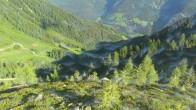 Archiv Foto Webcam Bergsee Klaussee im Ahrntal (Südtirol) 02:00
