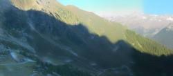 Archiv Foto Webcam Panorama Klaussee (Ahrntal) 02:00