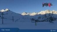Archived image Webcam Ischgl: Top Station Idalp 01:00