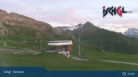 Archived image Webcam Ischgl: Top Station Idalp 21:00