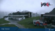 Archiv Foto Webcam Skigebiet Ischgl: Bergstation Idalp 23:00