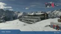 Archived image Webcam Ischgl: Top Station Idalp 09:00
