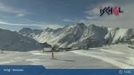 Archiv Foto Webcam Skigebiet Ischgl: Bergstation Idalp 07:00
