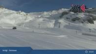 Archiv Foto Webcam Skigebiet Ischgl: Bergstation Idalp 09:00
