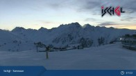 Archiv Foto Webcam Skigebiet Ischgl: Bergstation Idalp 13:00