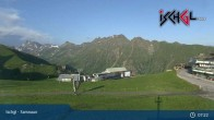 Archiv Foto Webcam Skigebiet Ischgl: Bergstation Idalp 01:00
