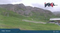 Archiv Foto Webcam Skigebiet Ischgl: Bergstation Idalp 05:00