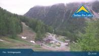 Archiv Foto Webcam Fiss: Blick auf die Schöngampalm 21:00