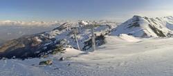 Archiv Foto Webcam Le Rotsé - Skigebiet St Luc Chandolin 02:00